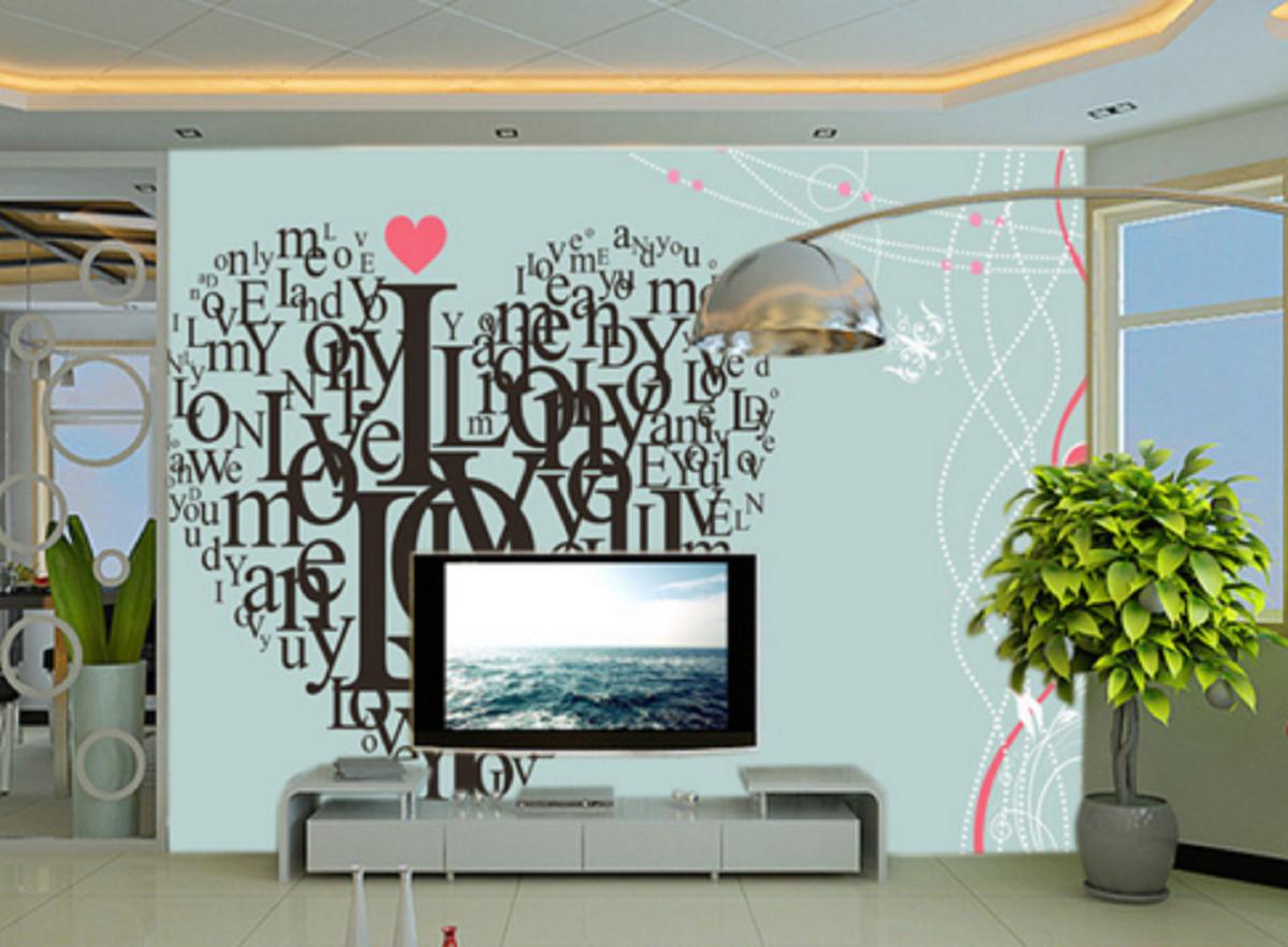 3D Blau Heart Shape 85 Wall Paper Murals Wall Print Wall Wallpaper Mural AU Kyra