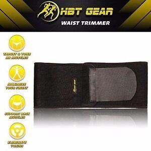 e3cbf073c21 HBT GEAR Waist Trimmer Body Shaper Belly Slimming Ab Training Belt ...