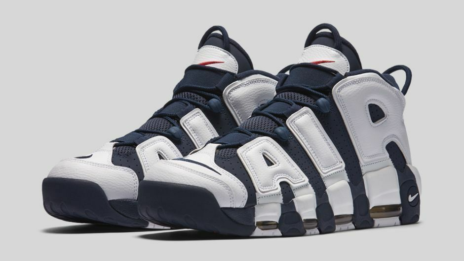 2016 Nike Air More Uptempo Olympic Size 13. 414962-104 Jordan Foamposite Pippen