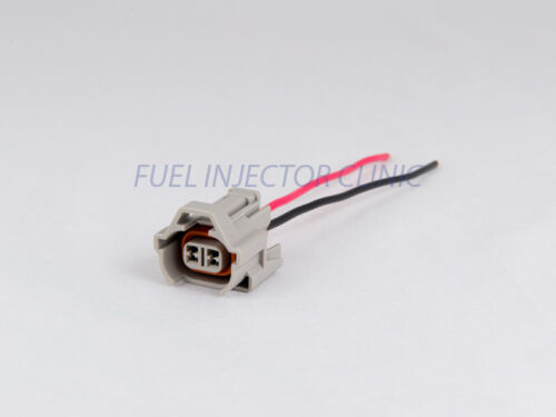 FIC SET OF 4 DENSO FUEL INJECTOR CLINIC CONNECTORS WITH PIGTAILS PGT DEN4