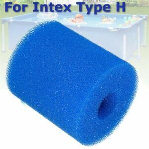 For Intex-Type H Washable Reusable Swimming Pool Filter Foam Sponge Cartridge