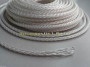 Groovy Hifi Audio Occ Silver Plated Wire 8Core Earphone Rca Xlr Speaker Wiring 101 Mentrastrewellnesstrialsorg