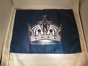 "1 LA KINGS Hockey Car-Flag MIP 12 1/2"" x 16"" w/flexible support & window clip"