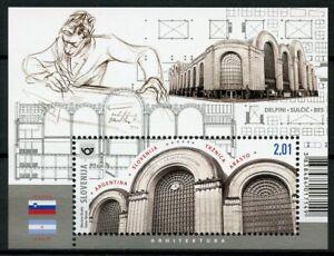 Slovenia-Architecture-Stamps-2019-MNH-Viktor-Sulcic-JIS-Argentina-1v-M-S