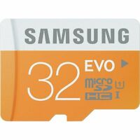 Samsung 32GB EVO 48MB/s MicroSD SDHC UHS-I Class 10 Memory Card with SD Adapter