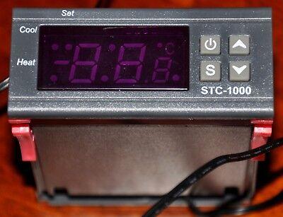 >>> Einbauthermometer Mit Messfühler Und Schaltausgang Stc-1000 24v