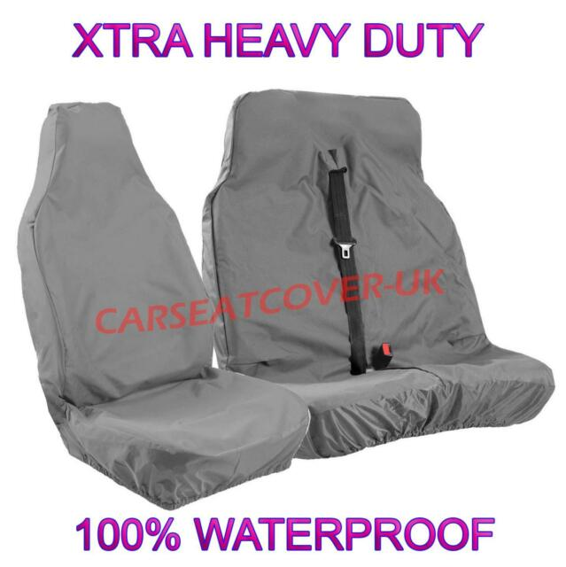 VAUXHALL VIVARO Heavy Duty Black Waterproof Single Seat Cover 1 x Front