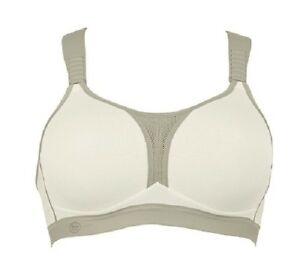 57394b80d9ed3 Anita Women s Dynamix Star Maximum Support Sport Bra 5537 White ...