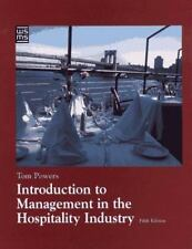 Introduction to Management in the Hospitality Industry (Wiley Service