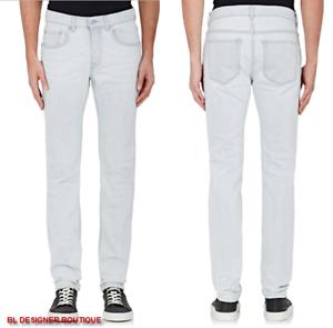 ACNE STUDIOS Men Stretch Cotton Ace Bleached Wash Skinny Jeans sz 31 ... 84f6c3a4526