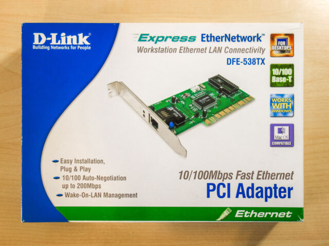 D-LINK DFE-538TX LAN DRIVERS FOR MAC