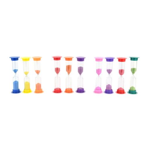 Mini 1 //2//3 Minute New Sandglass Hourglass Sand Clock Timer NewP/&C WD