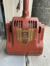 Antique Sc Johnsons Beautiflor Wax Electric Floor Polisher Buffer 1920s Red