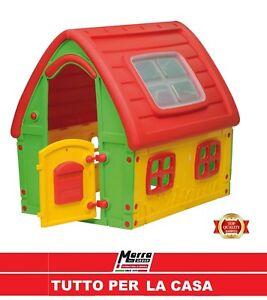 Casetta giochi bimbi bambini giocattoli resina giardino for Casetta giardino bimbi usata