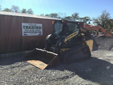 2015 New Holland C232 Compact Track Skid Steer Loader With Cab Clean Only 1300hrs