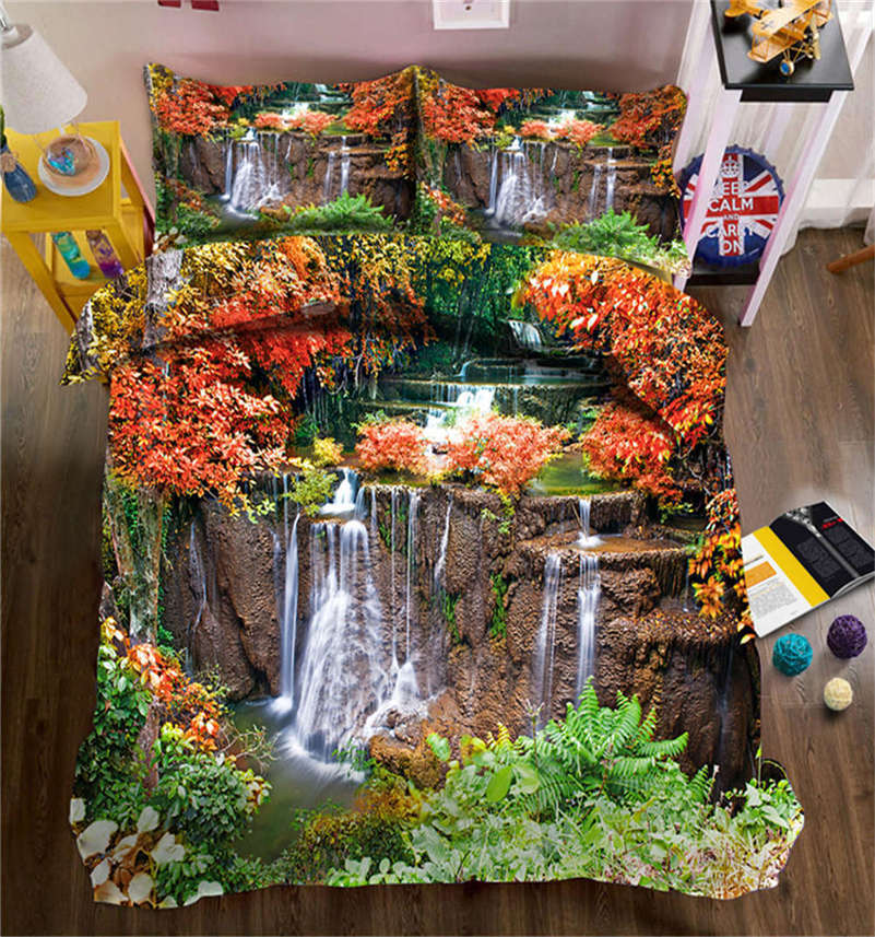 Special Grass 3D Printing Duvet Quilt Doona Covers Pillow Case Bedding Sets