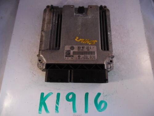 2006 06 VW PASSAT 2.0L AT COMPUTER BRAIN ENGINE CONTROL ECU ECM EBX MODULE K1916