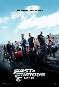 FAST-amp-FURIOUS-6-CAST-MINI-ORIGINAL-11x17-MOVIE-POSTER-Vin-Diesel-Paul-Walker