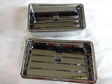 HONDA GOLDWING GL1800 2001 THRU 2010 CHROME PLATED LOWER AIR VENTS  52-642