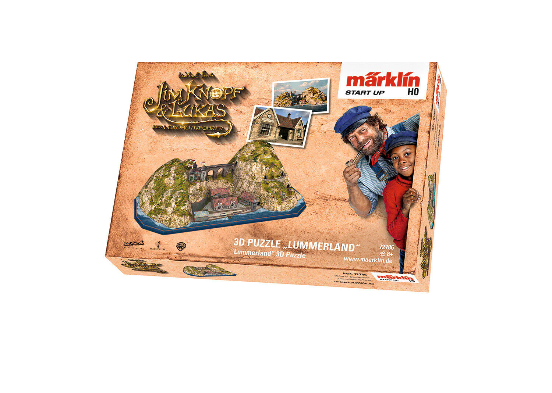 Märklin 72786  3D 3D 3D Puzzle Lummerland Jim Knopf 173d61