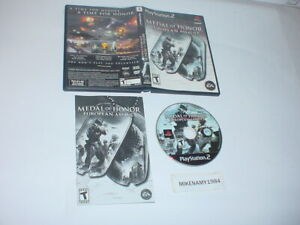 MEDAL OF HONOR: EUROPEAN ASSAULT game complete w/ instructions Playstation 2 PS2