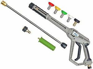 Pressure Washer Gun >> Blue Hawk Pressure Washer Spray Gun 4200 Psi For Sale Online Ebay