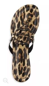 7fe294bcc61602 NEW Tory Burch Miller Sandals in Natural Leopard Print 5.5 6 7 8 9 ...