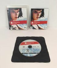 'Mirror's Edge' (Sony PlayStation 3, 2008) Complete & Tested! Disc is Mint!