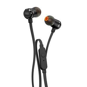 JBL JBLT290BLK Canal type earphone T290 Aluminum housing