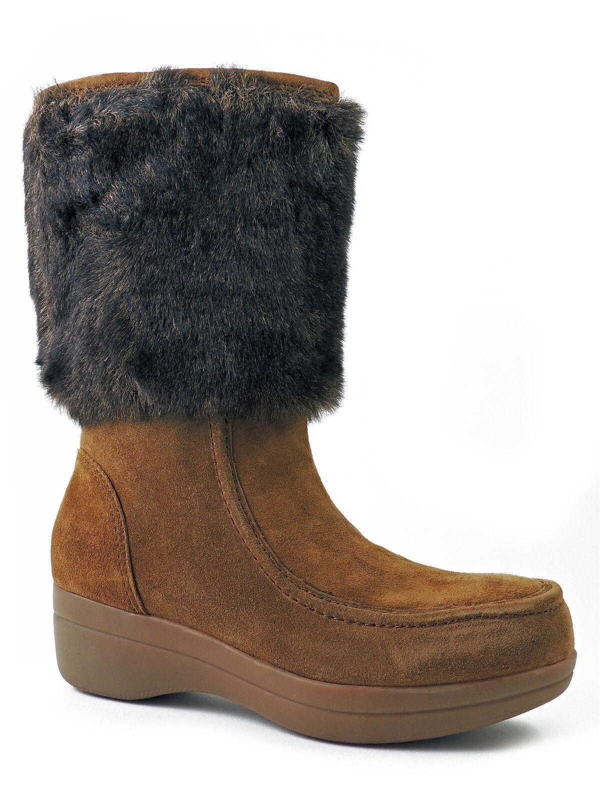 ENZO Angiolini para mujer botas Invierno Nieve Nieve Nieve Pegasi, natural MU Gamuza Talla 6 M  suministro directo de los fabricantes