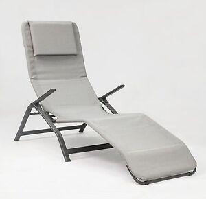 Sedia A Sdraio Basculante.Stiliac Poltrona Sdraio Basculante Pasha Tubo Ovale Ebay