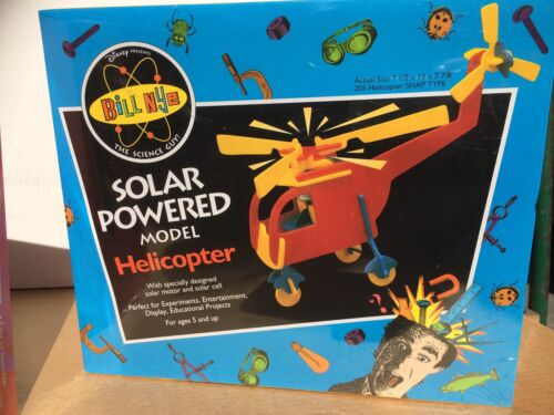 """/""""Bill Nye The Science Guy/"""" SOLAR POWERED MODEL HELICOPTER KIT"""