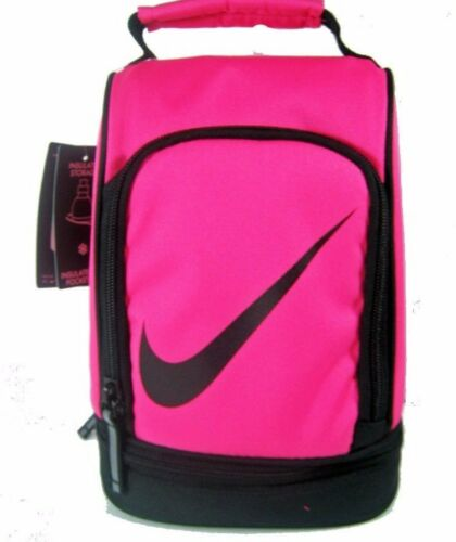 Nike Insulated Dome Lunch Box Tote School Bag Girls Pink New NWT