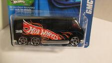 Hotwheels 2006 #208 GMC MOTORHOME black w/ PR5 wheels   htf variation