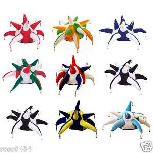 Football-Rugby-JESTER-HAT-Bells-Selection-Red-Blue-Black-Navy-Yellow-White-Sky
