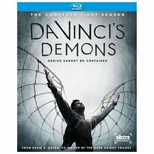 Da Vincis Demons (Blu-ray Disc, 2013, 3-Disc Set) BRAND NEW FACTORY SEALED