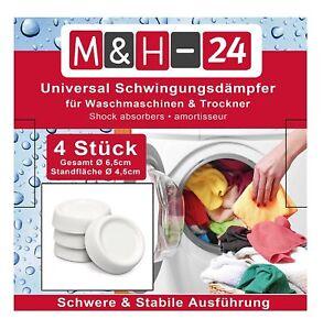 Schwingungsdaempfer-Waschmaschine-Vibrationsdaempfer-Vibrationsmatte-weiss-Gummi