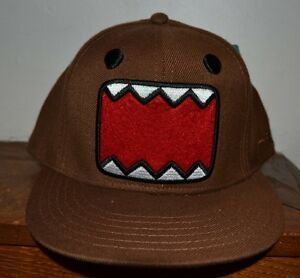 DOMO EMBROIDERED Flat Bill Hat OFFICIALLY Licensed Fitted Cap Adult 764d8fc9b4c