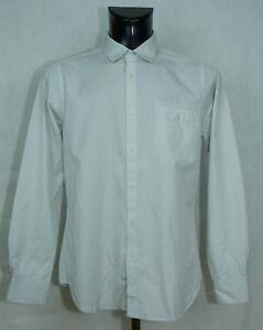MENS-BEN-SHERMAN-SHIRT-LONG-SLEEVE-COTTON-SIZE-M-L-SLIM-FIT-VGC