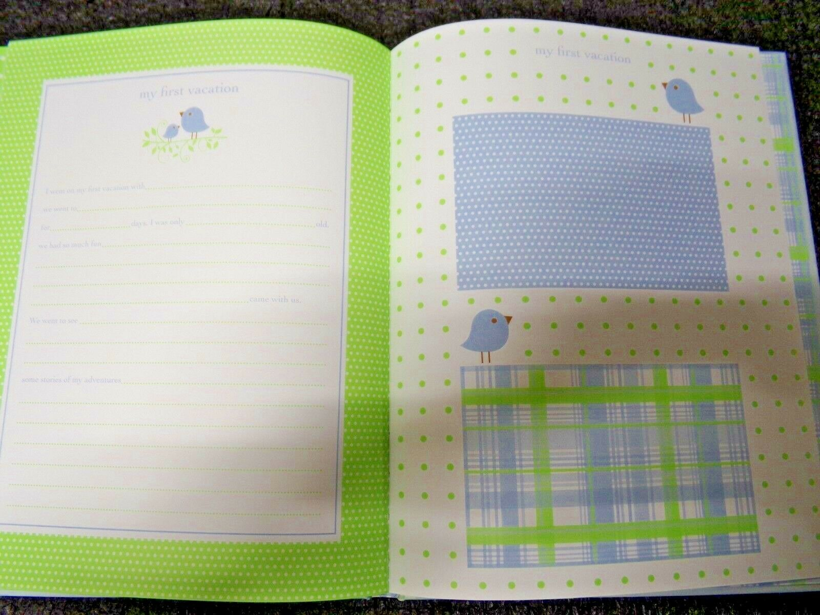 RC Pepperpot Sweet Tweets Boy Baby Record Book