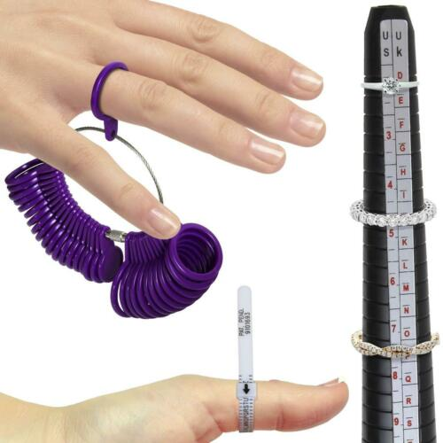Ringgrössenmesser Set Ringgröße Messen Finger Ringmaß Multisizer Dorn Ringstock