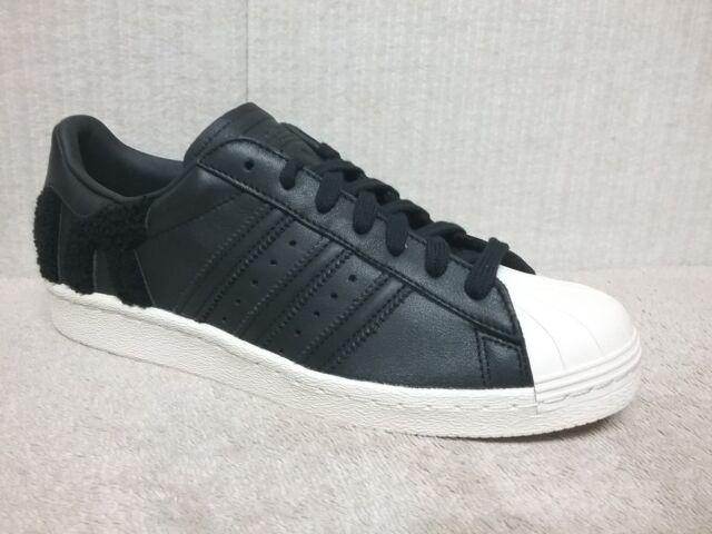 Size 9 - adidas Superstar 80s Core Black - AQ0883