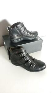 Bionica-Orion-Bootie-Women-039-s-Ankle-Boots-Black-Sz-USA-7-5-M-233