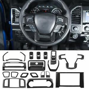 20 PCS Interior Decoration Trim Kit Fits for Ford F150 2015-2019 Accessories TCZ