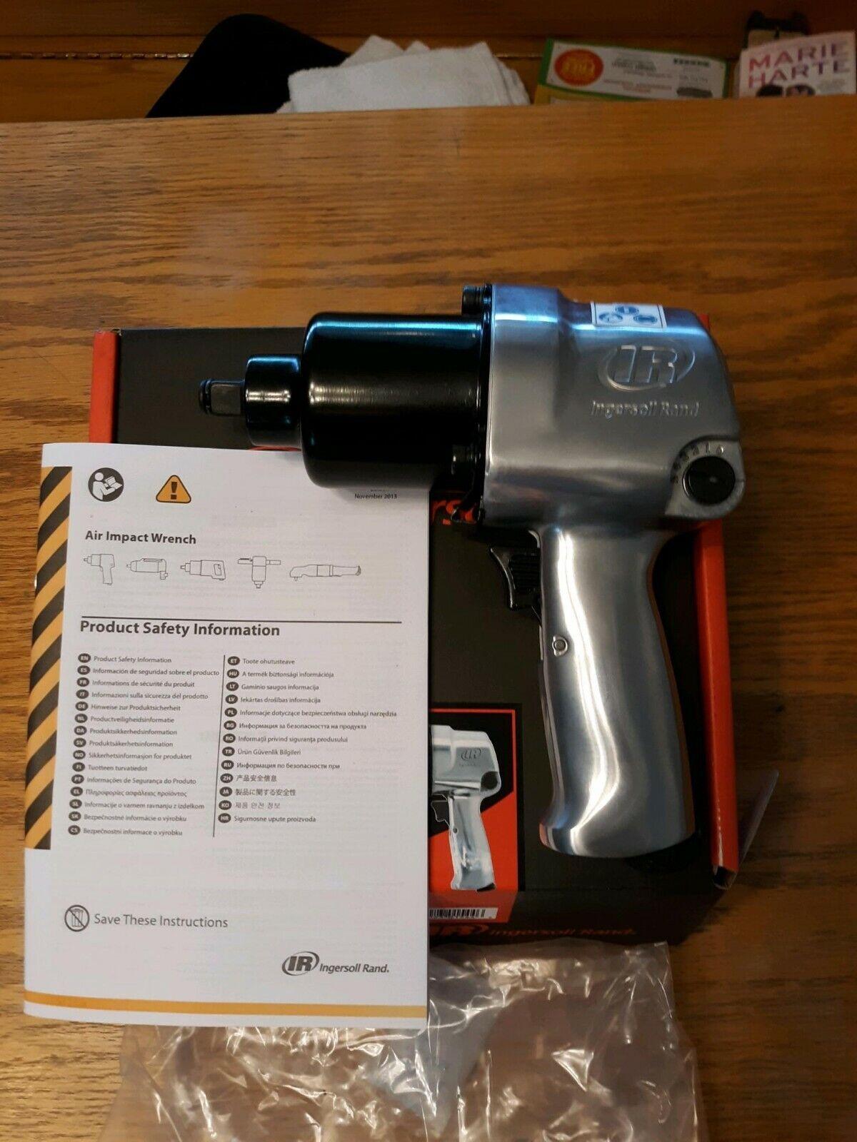IR244A racesbc4life Ingersoll Rand 244A 1/2 Super Duty Air Impact Wrench Gun Tool IR244A IR 244 A