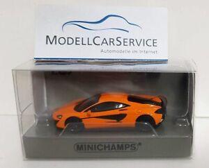 1//87 Minichamps mclaren 570gt gris 870154520