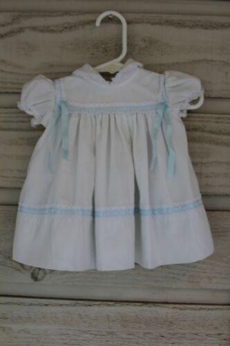 Vintage Childrens Baby Girl Dress w/ Built in Slip