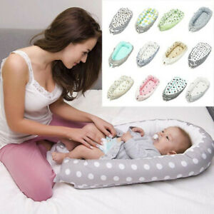 Newborn-Toddler-Baby-Portable-Removable-And-Washable-Crib-Travel-P-Bed-Nest-Bed
