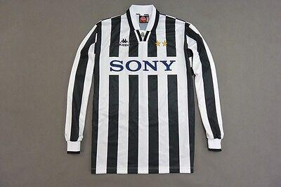 1995 97 Kappa Juventus Turín Home Camiseta Juve Italia Nº 9 Vialli Boksic Talla XL | eBay