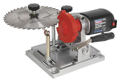NEW Sealey SMS2003 Bench Mount 90mm-400mm TCT Saw Blade Sharpener/Grinder 240v